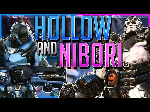 Hollow and Nibori's Sick Combos (Full Game!) - Winterfest Event - Paragon [Open Beta]