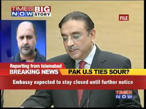 US Embassy closed indefinitely in Pak
