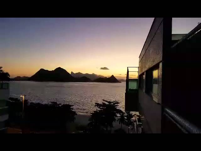 O Rio de Janeiro é mais bonito ainda visto de Niterói!... Rsrsrs