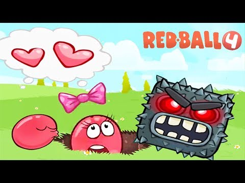 RED BALL 4 Volume 5  INTO THE CAVE  New update all Levels - Walkthrough 5