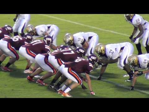 Simeon Khan #55    Mountain View High School Football 2012    28 Sep 12