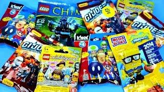 Blind Bag Blowout Set 1 includes LEGO Spongebob Super Mario G.I. Joe & Chima