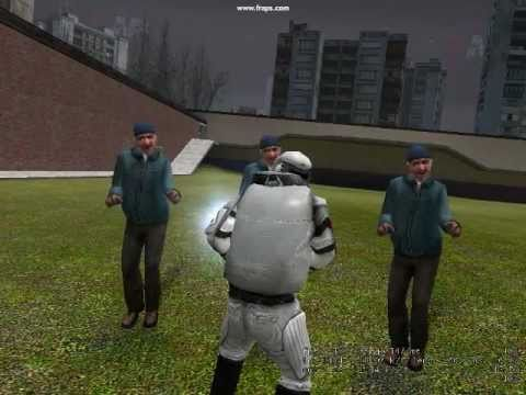 Kids getting mad in Gmod Video