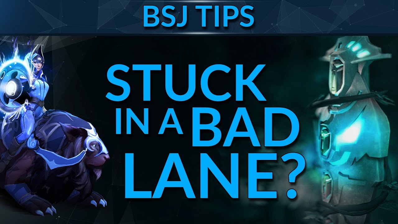 How to Handle a BAD LANE | Dota 2 Guide
