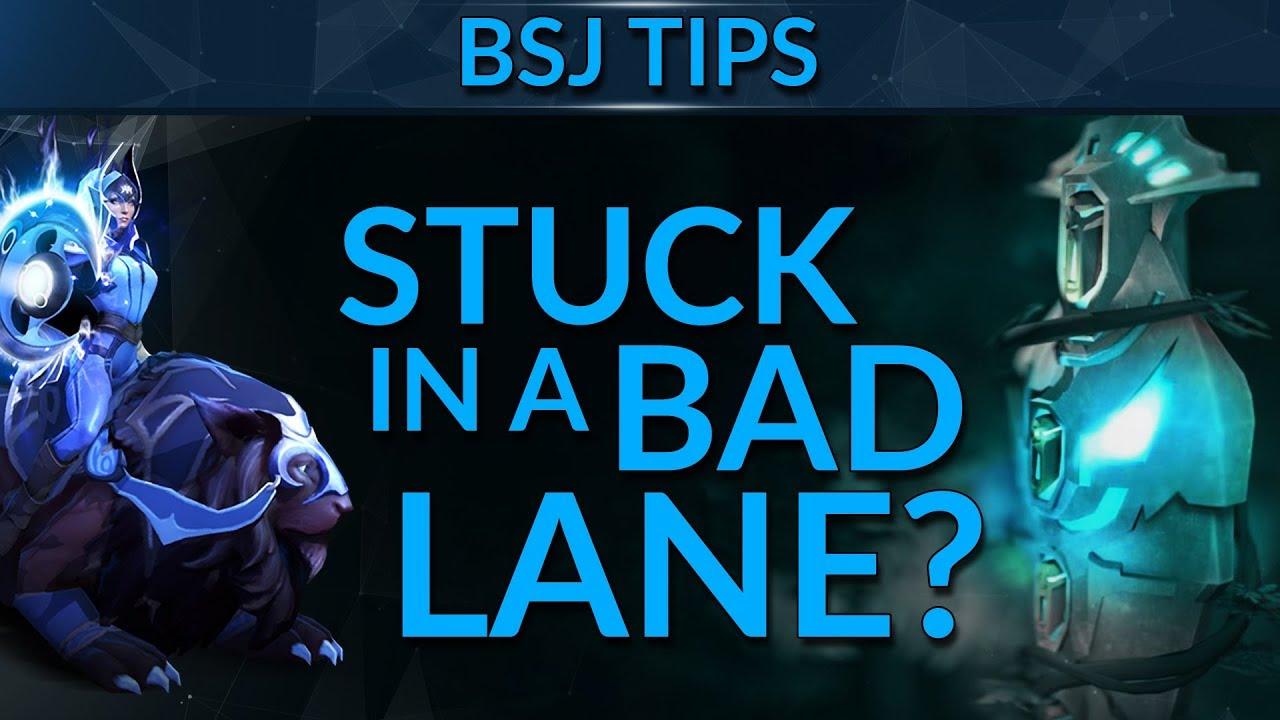 How to Handle a BAD LANE | Dota 2 Guide