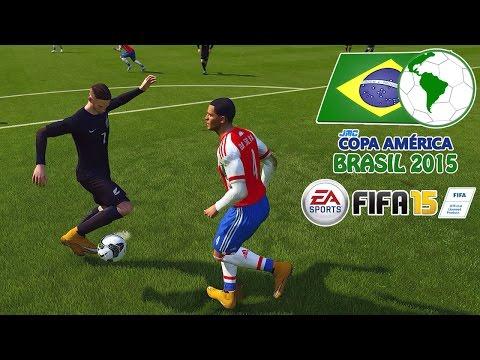 New Zealand vs. Paraguay | jmc Copa América 2015 | FIFA 15