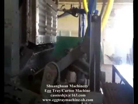 Egg tray machine production line Algeria made in China SH Machinery