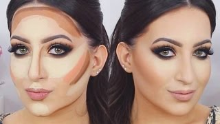 ♡ Contour and Highlight PRO - Make Up Tutorial  | Melissa Samways ♡