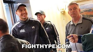 GVOZDYK & TEDDY ATLAS SECONDS AFTER WEIGH-IN; FINAL WORDS BEFORE BETERBIEV UNIFICATION SHOWDOWN