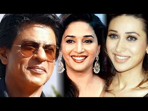 Shah Rukh Khan: Am A Dance Guru For Madhuri Dixit And Karisma Kapoor video