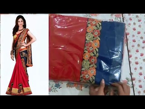 Flipkart Bollywood Silk Saree review|Designer party wear saree