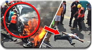Top 5 - VEHICLES LIFTED TO SAVE A LIFE MOMENTS || Faith in Humanity Restored!
