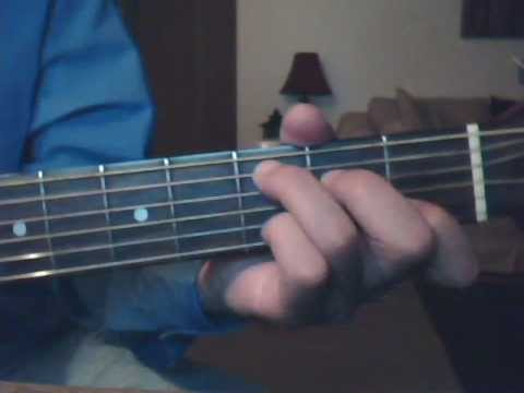 How To Play 'i Will Be' By Avril Lavigne (leona Lewis Version) On The Guitar video