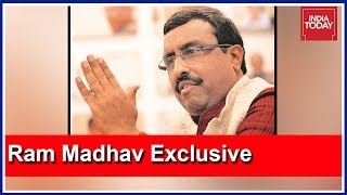 """""""Will Isolate Pakistan After Pulwama Attack,"""" Ram Madhav Exclusive Interview With Rahul Kanwal"""