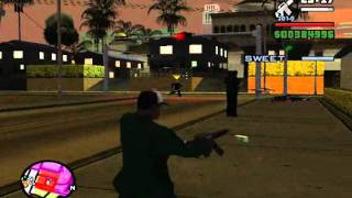 Gta San Andreas - Misión 95 - Grove 4 Life (PC)