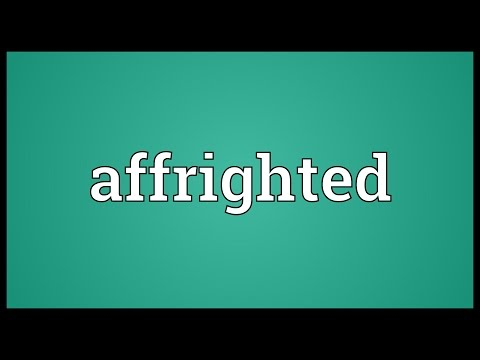 Header of Affrighted