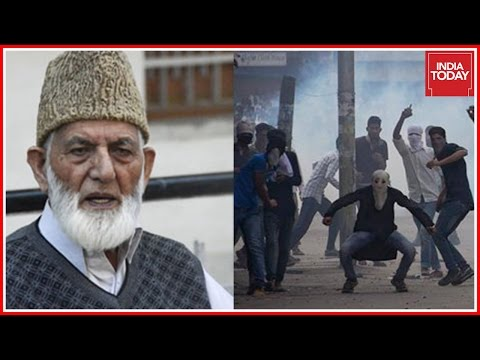 Kashmiri Youth Claims Geelani Pays Rs 500 For Pelting Stones