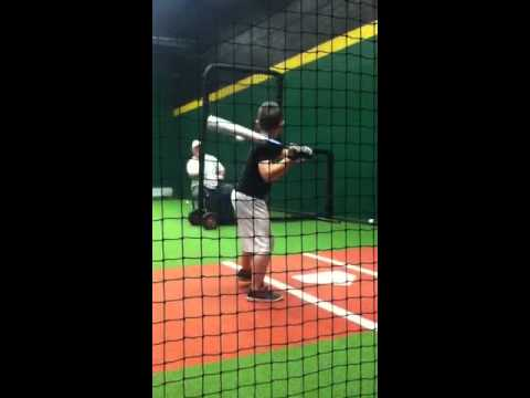 My son at hitting practice... Just a short clip.