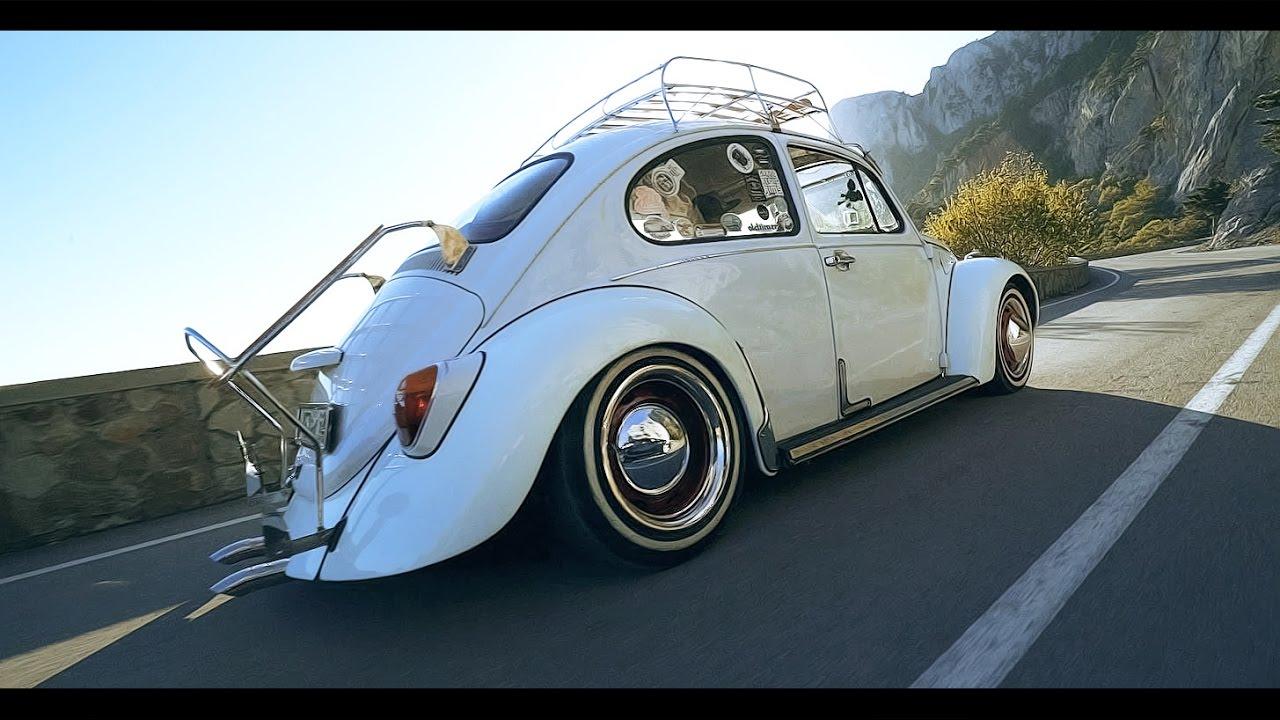 34 л.с. - STANCE по горному серпантину на Volkswagen käfer (VW Жук)