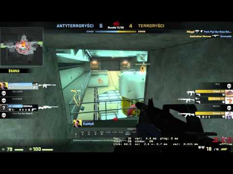 Random Moment In CS:GO #1 By KaMyK- Polski Rock