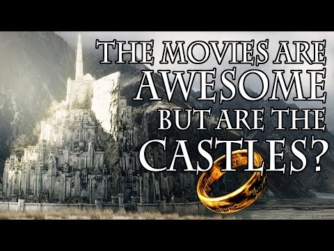Are the castlescities in Lord of the Rings realistic?