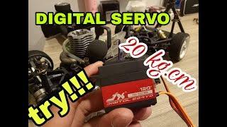 Unboxing Servo Digital RC Car 1/10    HOBAO GPX4 PRO
