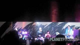 Pitbull in Geneva, Switzerland performing Shake!!  International Takeover!!