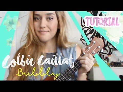 BUBBLY - Colbie Caillat | Ukulele Tutorial por Vika Aguiar