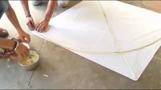 Making kite | how to make a kite | watch how i made kite | kite making tutorial | maanish aks