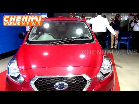 Datsun go plus unveiling at Jubilant Nissan Egmore Chennai