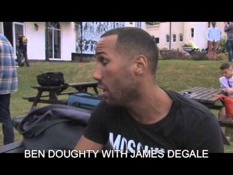 BEN DOUGHTY WITH JAMES DEGALE