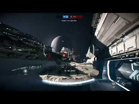Millenium Falcon Gameplay (STAR WARS Battlefront 2 Multiplayer Beta 2017)