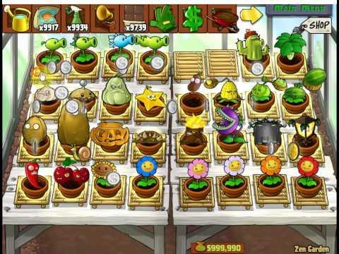 Plants vs Zombies Zen garden my collection