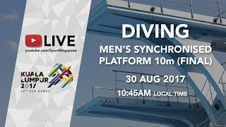 Men's Synchronised Diving 10m platform final | 29th SEA Games 2017