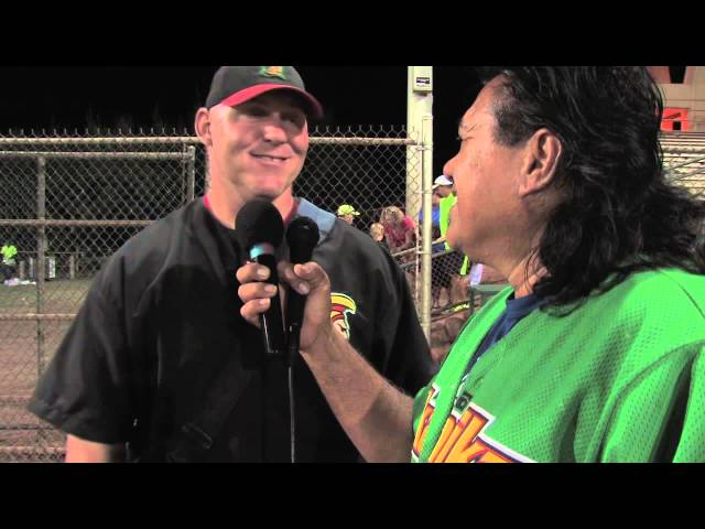 07/15/13 Jeff Brooks Interview - Na Koa Ikaika Maui vs. East Bay Lumberjacks 10-0