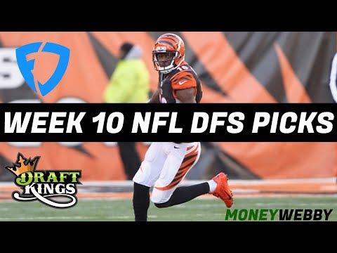 2017 Fantasy Football: Week 10 NFL DraftKings + FanDuel Picks & Preview