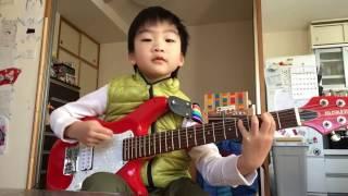 5歳のギター弾き語り「未完成デイジー」UNISON SQUARE GARDEN