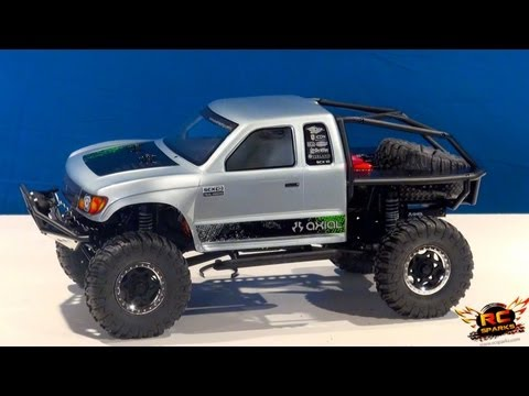 RC ADVENTURES - NEW AXiAL SCX10 4X4 RTR Unboxing: RCSparks Decals Included!
