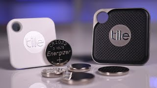 TILE Pro & Mate with a REPLACEABLE BATTERY - FULL REVIEW