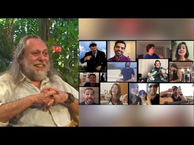 Homenagem da família e amigos ao Caio - Com reações do Caio.