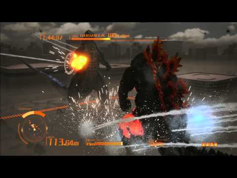 Godzilla The Game Ps3 Vs Kiryu godzilla 2014 video
