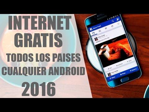 COMO TENER INTERNET GRATIS EN CUALQUIER PAÍS   2016   3G y 4G   GRATIS   FUNCIONANDO