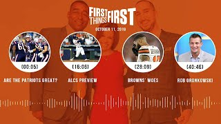 First Things First Audio Podcast(10.11.19)Cris Carter, Nick Wright, Jenna Wolfe | FIRST THINGS FIRST