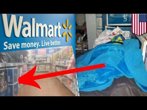 Teenager, nanirahan sa isang Walmart nang dalawa