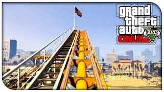GTA 5 Online - Roller Coaster, New Game Mode & More! (Patch 1.15 Features) [GTA V Independence Day]