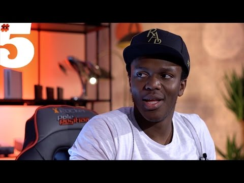 KSI Speaks Exclusively To Rio Ferdinand | #5 Magazine