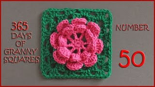 365 Days of Granny Squares Number 50