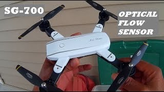 "SG700 MINI FPV ""SELFIE"" DRONE WITH OPTICAL FLOW, ALT HOLD & DUAL 720P  2MP CAMERAS"