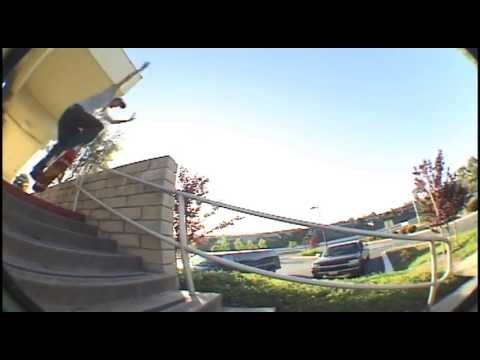 Start To Finish: Danilo Dandi Gap To Frontside Lipslide 10 Stair Skateboarding Orange County 2004