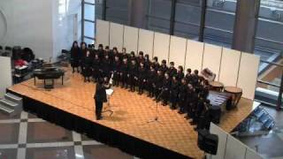 "赤とんぼ(女子高生徒合唱) Girls High School Students Choir ""Akatonbo"""